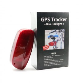 Localizador GPS para bicicletas en Luz Trasera Kingsneed